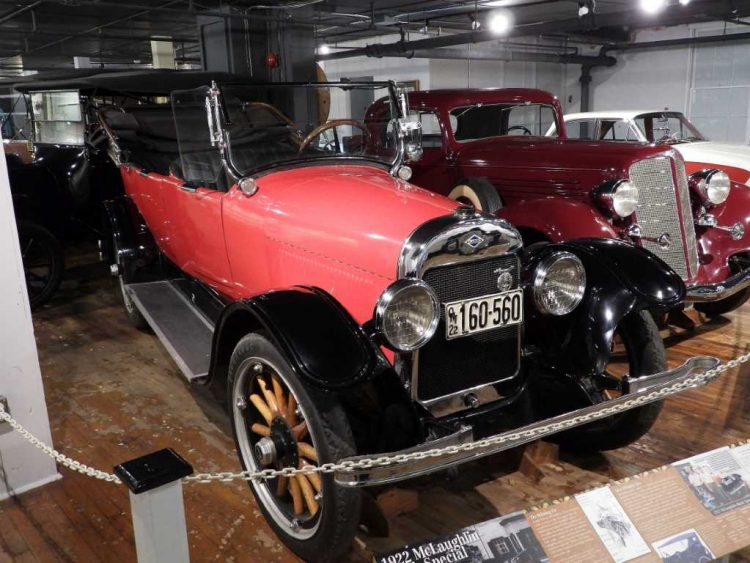 1922 McLaughlin-Buick. CREDIT: Howard Cohen