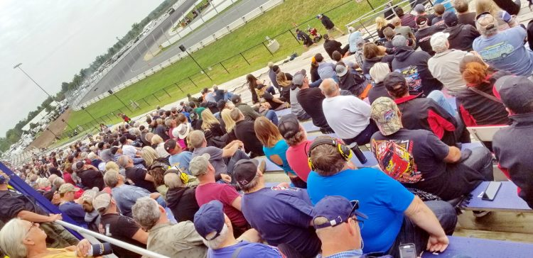 Starting July 16, tracks can welcome up to 75% (or a maximum of 15,000) fans. CREDIT: Greg MacPherson / ITMN