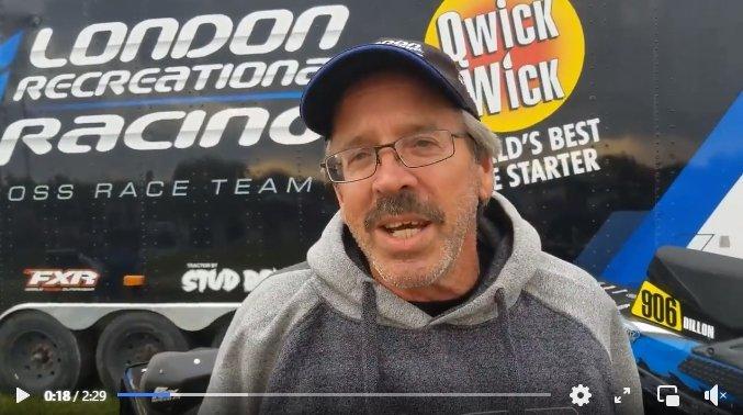 Mike Schmidt of the London Recreational Racing team.