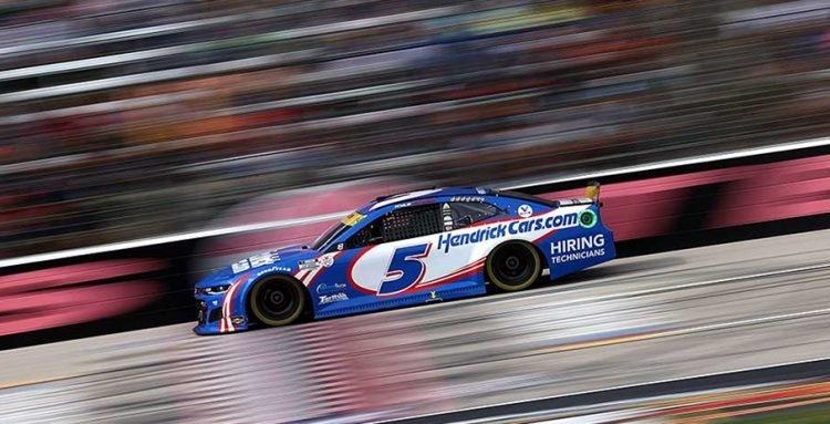 Kyle Larson's amazing season continued at Texas Motor Speedway. CREDIT: NASCAR